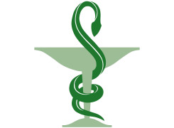 caducee pharmacien Couleur