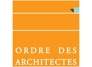 Logo d'architecte pour plaque professionnelle